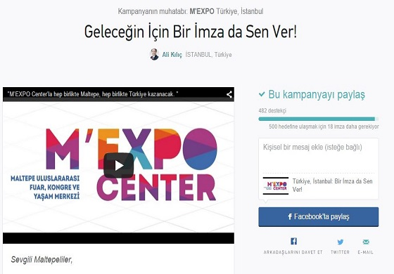 "M'Expo ""Change.org""da"